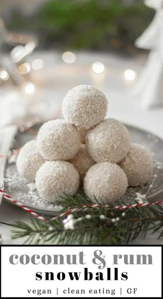 Coconut & Rum Snowballs