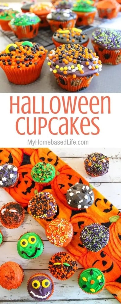 Cute Halloween Cupcakes For Kids
