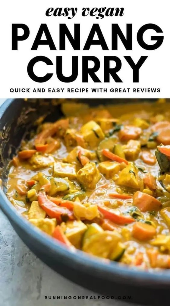 Vegan Panang Curry Tofu