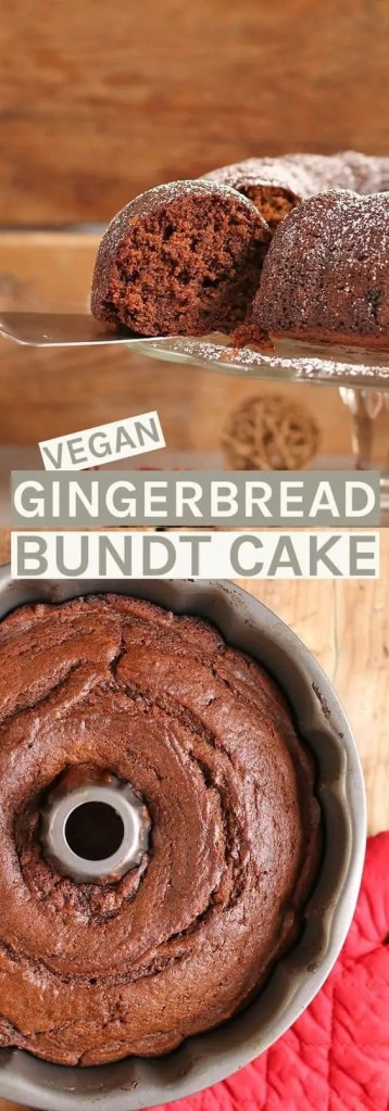 Vegan Gingerbread Cake