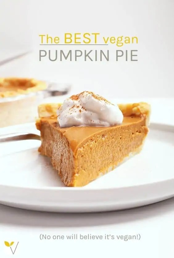 Classic Vegan Pumpkin Pie