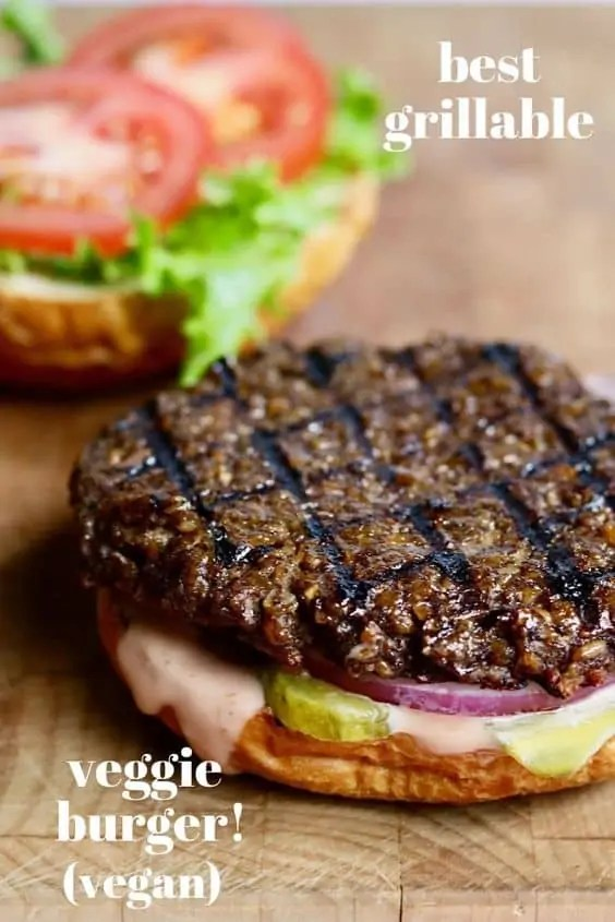 Best Grillable Vegan Burger Ever