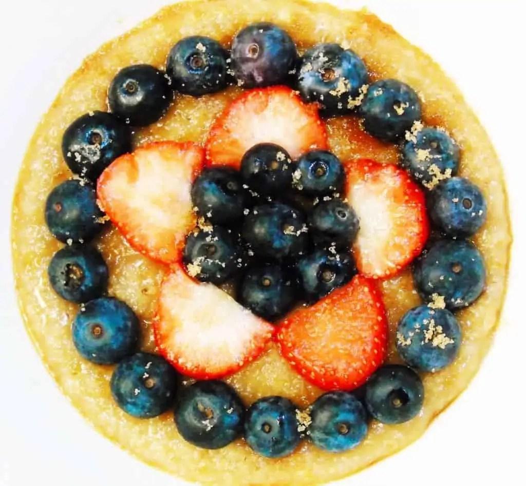 Syn Free Porridge with Fresh Berries