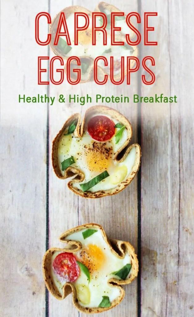 Caprese Egg Cups