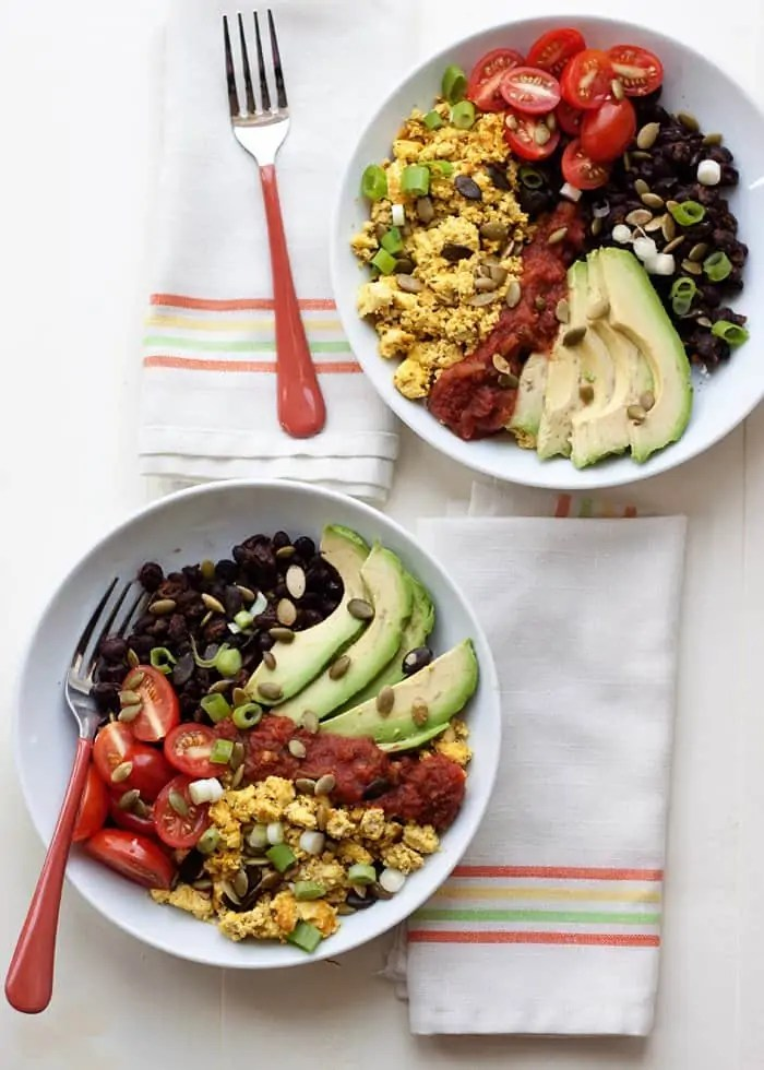Plant Protein Breakfast Bowl