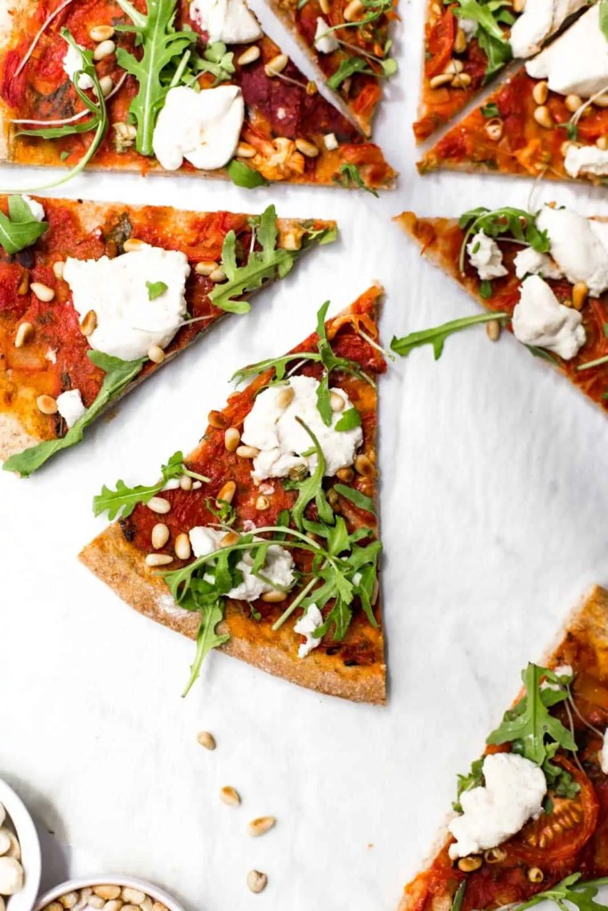 The Best Vegan Cheese Pizza