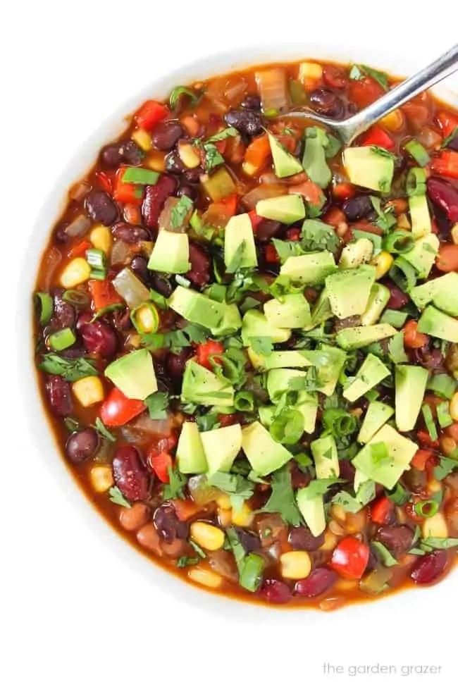 Vegan Three Bean Chili