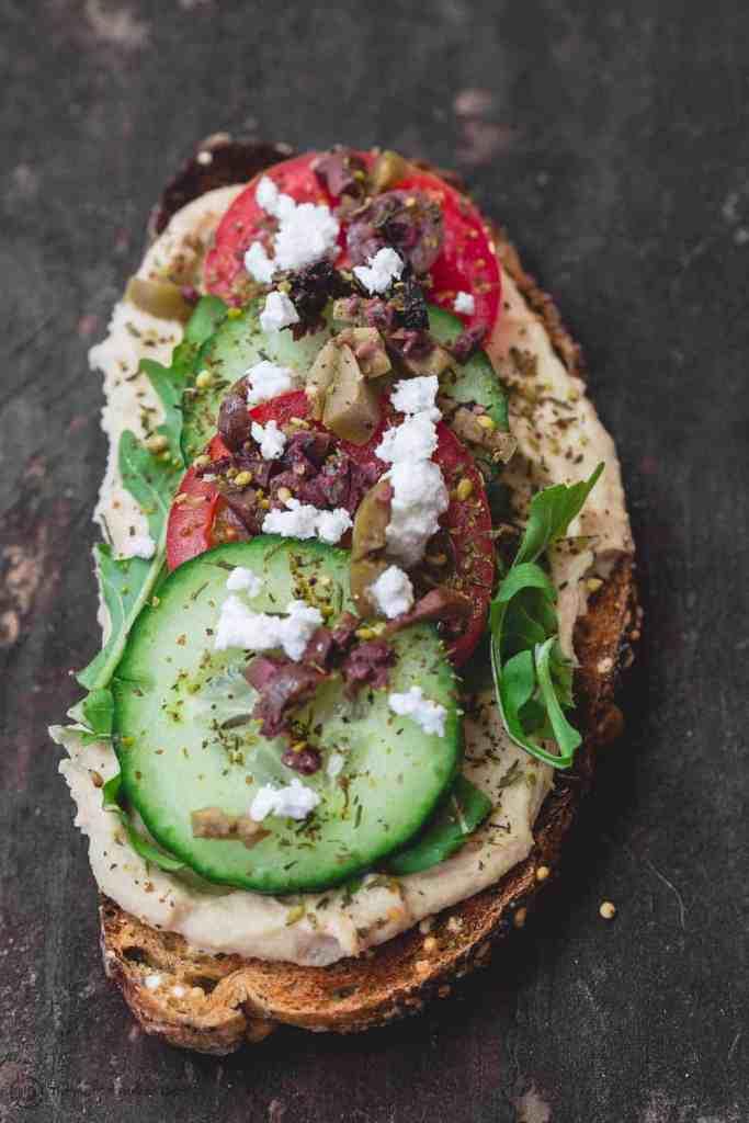 Mediterranean-Style Breakfast Toast