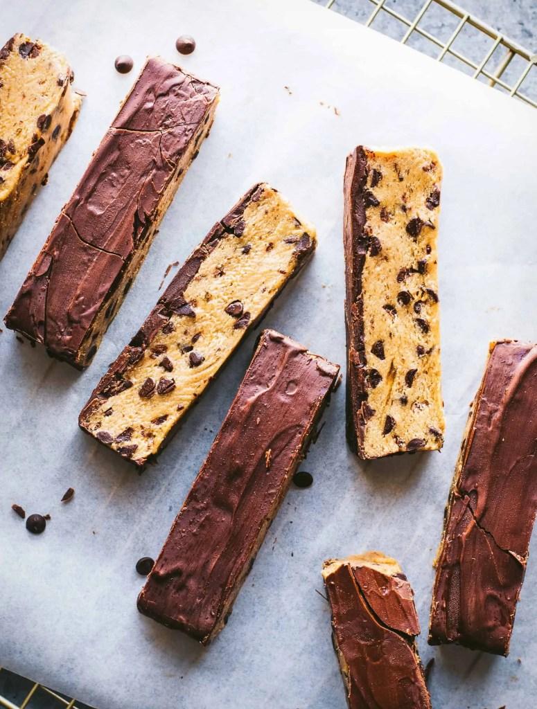 No-Bake Cookie Dough Bars