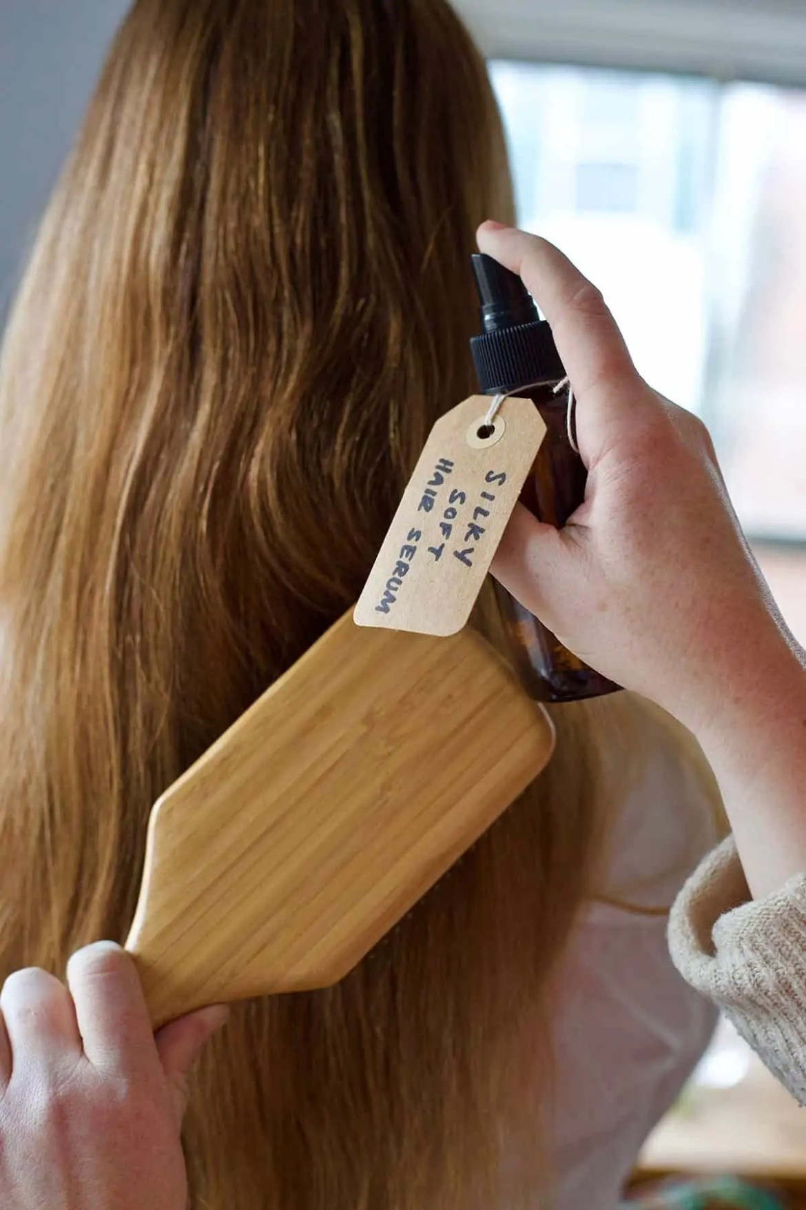 DIY Silky Soft Hair Serum