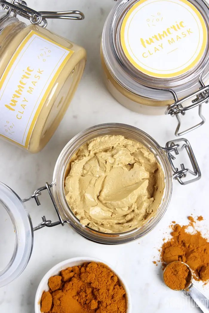 DIY Turmeric Clay Face Mask