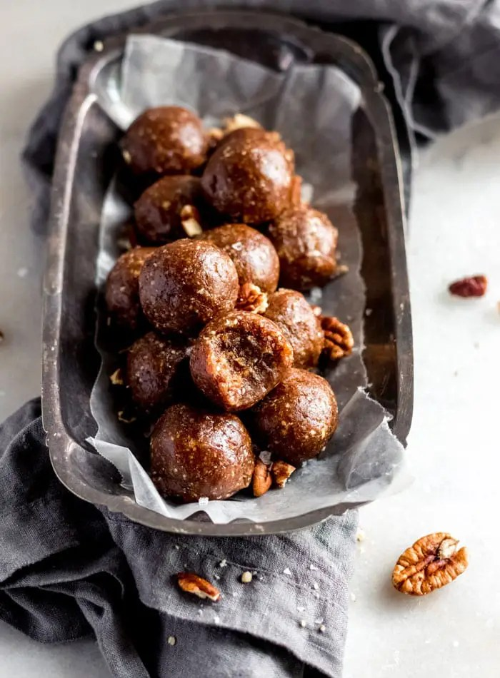 Pecan Pie Energy Bites