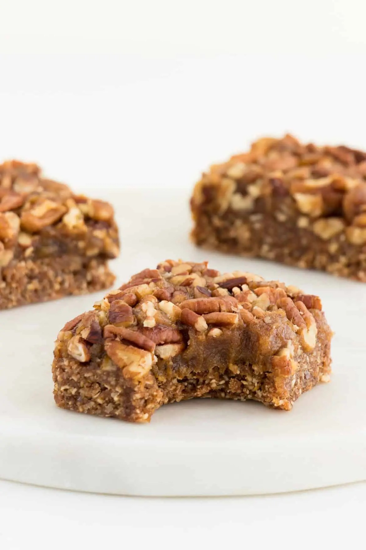 No-Bake Pecan Pie Bars