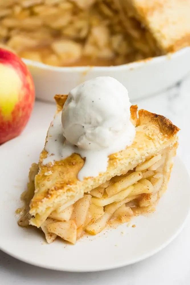 Perfect Vegan Apple Pie