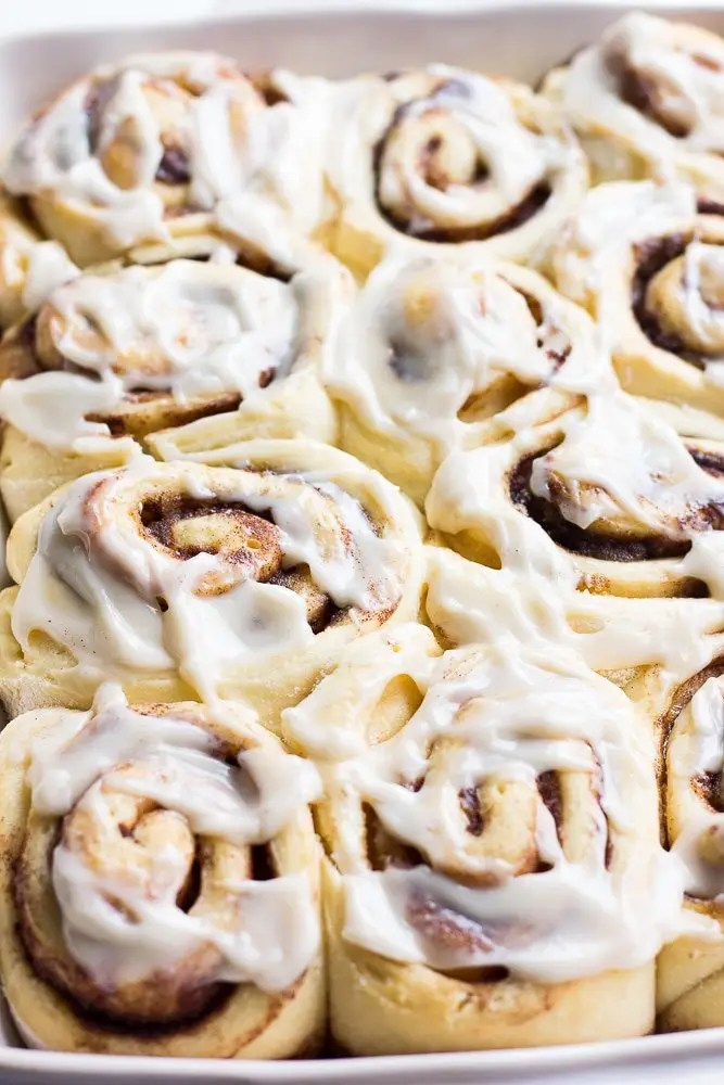 1 Hour Vegan Cinnamon Rolls