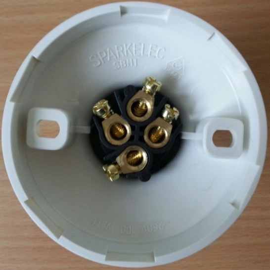 flat 4 wiring diagram telephone wire batten holder - sparkelec sbh1