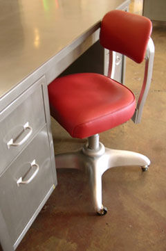 Vintage Metal Furniture for the Contemporary Worker