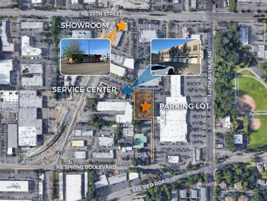 NEW LISTING: Bellevue / Spring District Automotive Properties