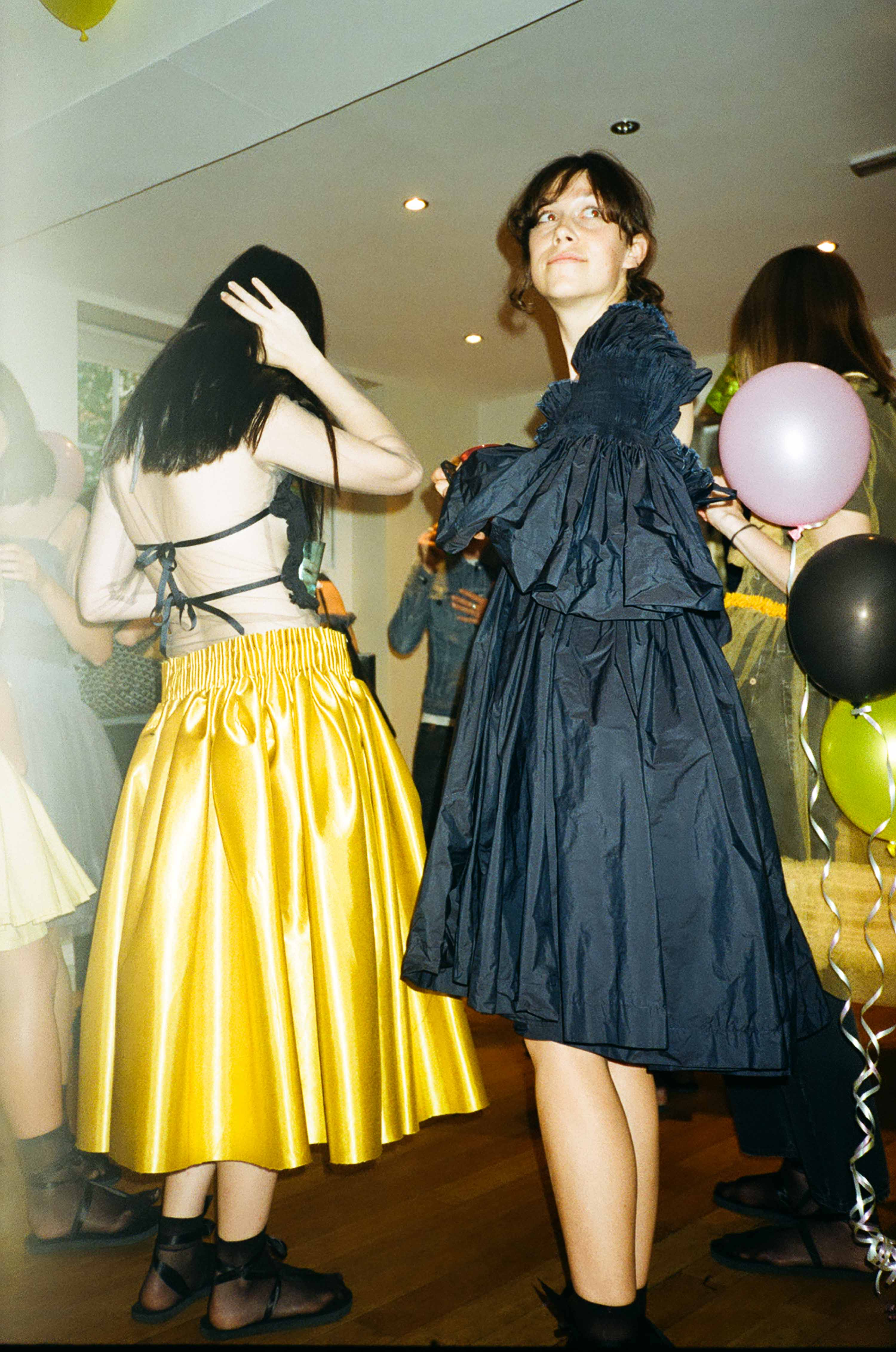 Molly Goddard makes Frilly Dresses