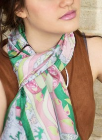 Agnes-Ashe-hand-painted-silk-scarf-Hetty-green-modelWP-copy