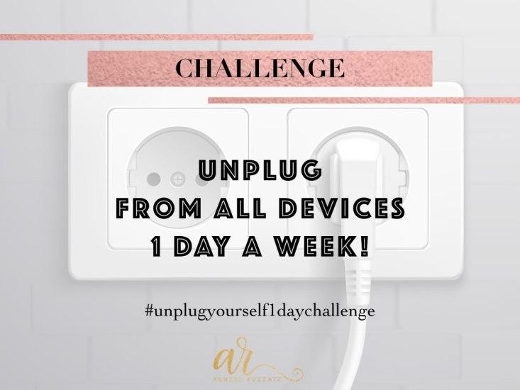 Agnese Rudzate unplug 1 day challenge clarity peace of mind