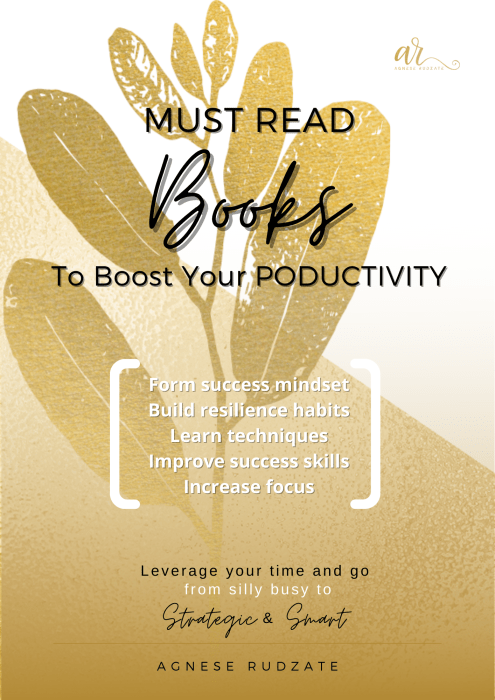 Must read Books to boost your productivity (1)