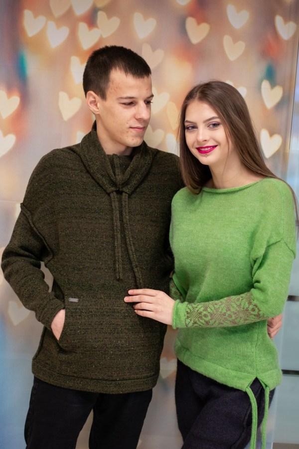 siltas vyriskas megztinis