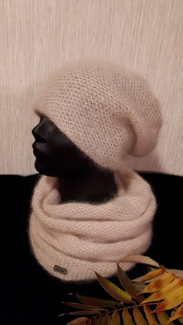 šilko mocheros kepurė ir mova