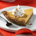 Almond Crusted Pumpkin Cheese Pie