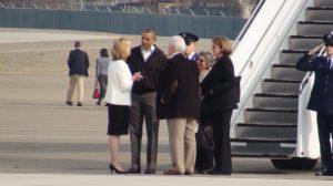 President Obama talks with Fresno Mayor Ashley Swearengin  AgNet West photo