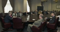 Vilsack meets with the National Association of Farm Broadcasters