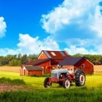 American Traditional Country Farm