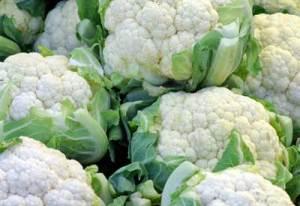 Cauliflower Consumption