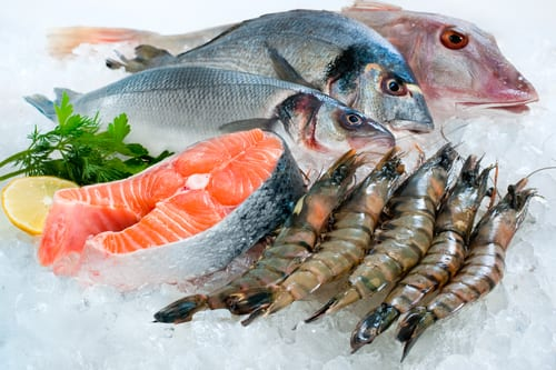 farm-raised seafood