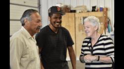 Gina McCarthy visits a CA farm.