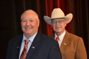 Steve Hanson (left) and Jerry Effertz will lead the Federation of State Beef Councils in 2016.