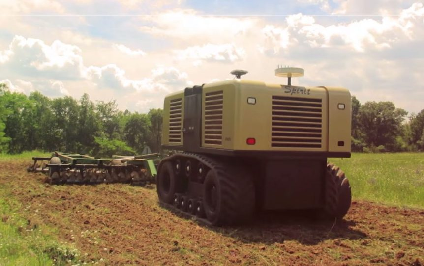 robot tractor