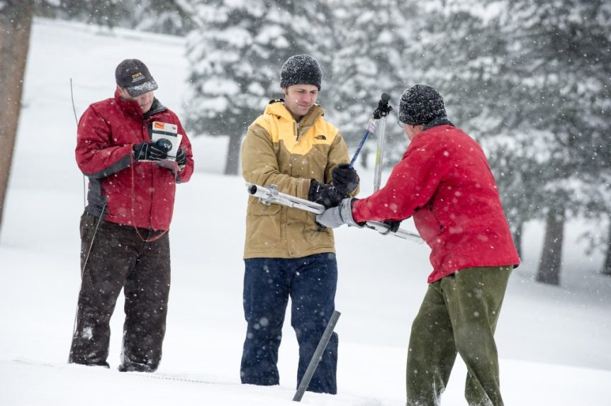 snow water survey