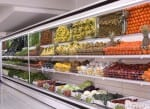 produce counter in supermarket