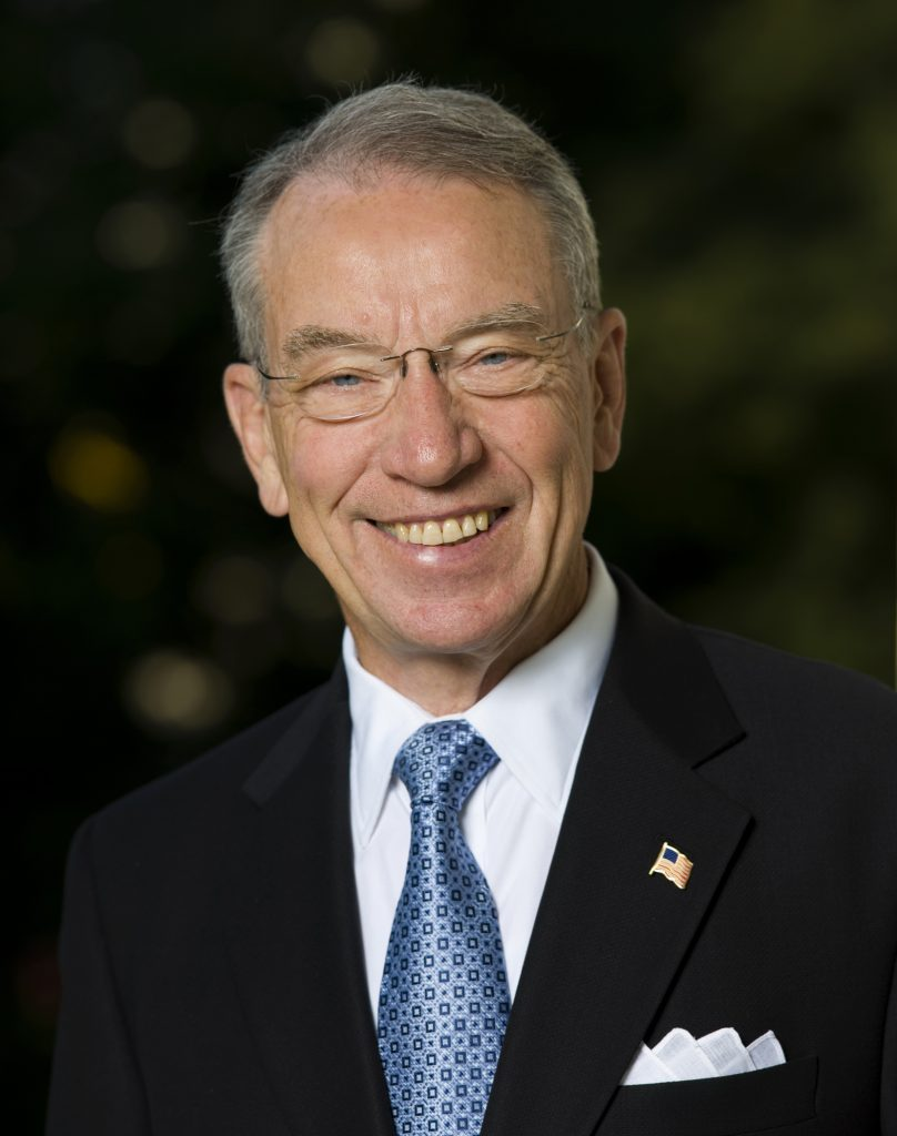 Iowa Republican Senator Chuck Grassley