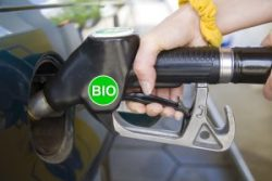 EPA fuel nozzle with biofuel