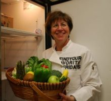 Julie Cates, teaches agriculture in the classroom