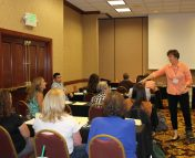Agriculture in the Classroom workshop with Julie Cates