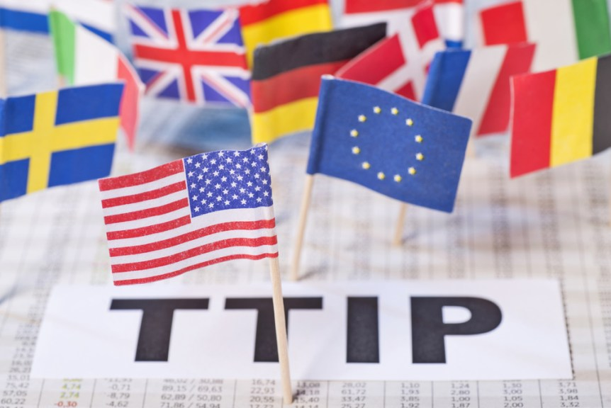 Transatlantic Free Trade Agreement, TTIP