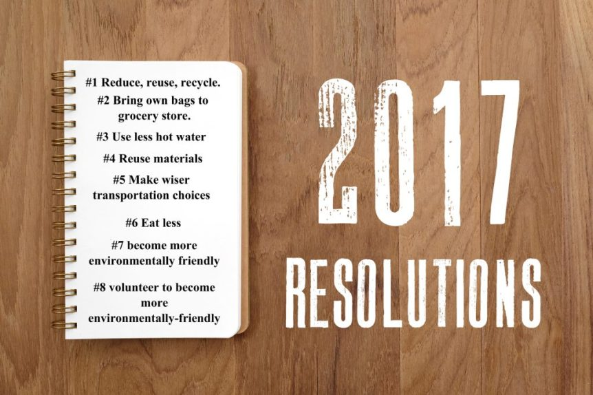 New Year resolutions 2017