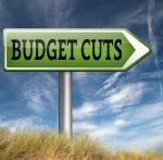 budget cuts percent
