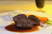 Carrot Glazed Beef Cheeks