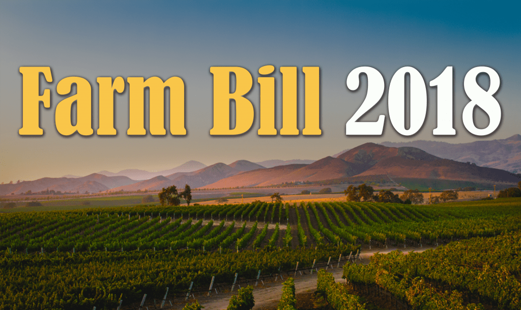 2018 Farm Bill A Hit for California Agriculture
