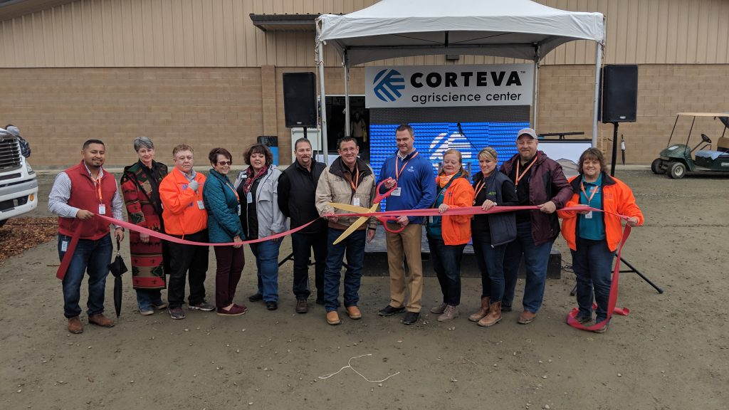 Corteva Sponsors Building at International Agri-Center