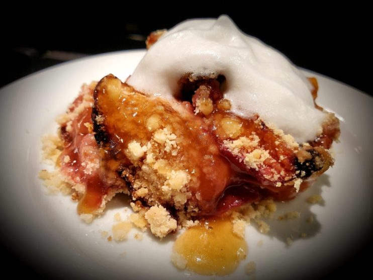 Untamed Peach Cobbler